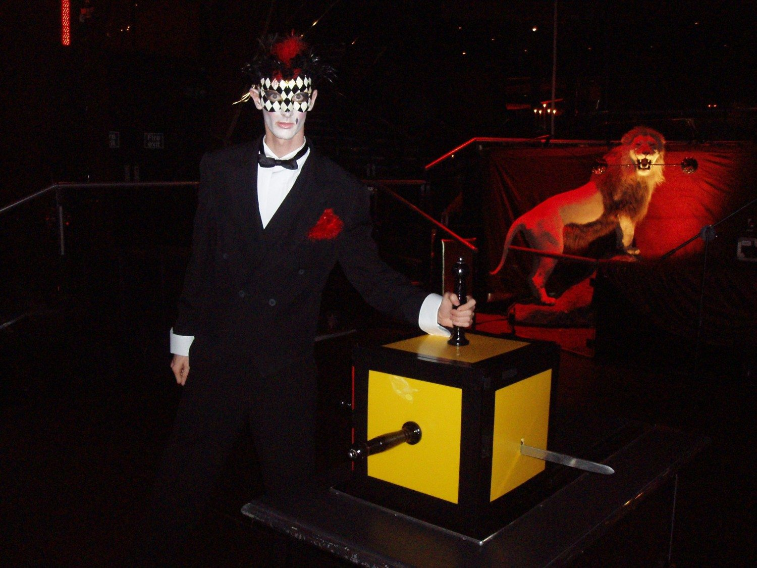 UK Illusionist Keelan Leyser at Harpers Bazaa